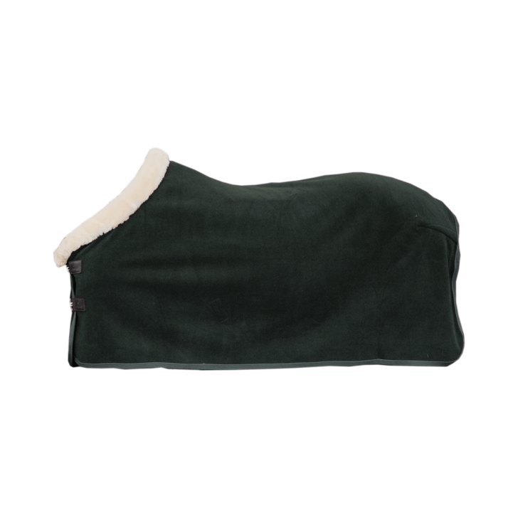 Bilde av Kentucky Heavy Fleece Show Rug Pine Green - LIMITED EDITION